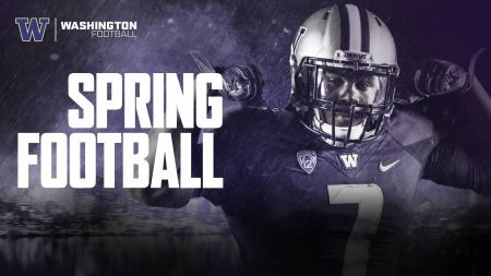 Ultimate Husky Fan Experience – Attend Spring Training with Jake Locker (4) – Includes post practice dining with Jake